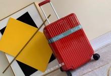日默瓦聚碳酸酯拉杆箱2019新款超轻pc拉链款行李箱 红色-日默瓦拉杆箱