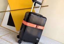 日默瓦登机箱2019新款超轻pc拉链款行李箱 黑色-日默瓦拉杆箱