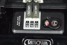 日默瓦密码设置 Rimowa Salsa系列TSA密码设置视频-日默瓦拉杆箱