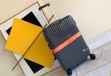 日默瓦托运箱2019新款超轻pc拉链款行李箱 深灰色-日默瓦拉杆箱