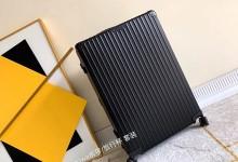 高仿RIMOWA Classic 972系列行礼箱 黑色29寸铝镁合金托运箱-日默瓦拉杆箱