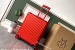 高仿日默瓦Original 925行李箱 原单22寸红色Topas旅行箱-日默瓦拉杆箱