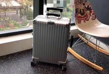 原单RIMOWA Classic 972系列拉杆箱 26寸全铝镁合金行礼箱 银色-日默瓦拉杆箱