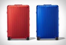 "RIMOWA两款Trunk Plus被称为""海军陆战队""和""猩红色""的行礼箱-日默瓦拉杆箱"